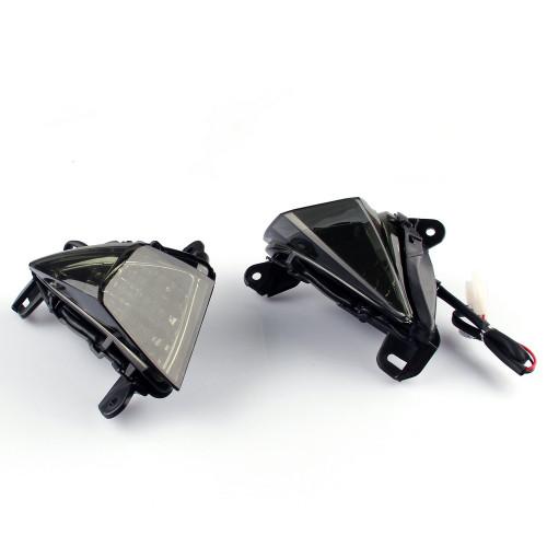 Front Turn Signals Blinker Indicator Kawasaki ZX636 ZX6R (2005-2010) Smoke