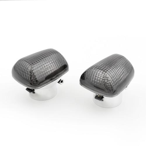 Front Turn Signals Light Lenses SUZUKI TL1000 1997-2004 GSXR600/750 1996-1999 SV650 1999-2004 GSXR1100 1999-2007 Black