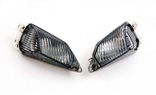 Rear Turn Signals Lens For Suzuki GSXR1000 2009-2010 K9 Smoke