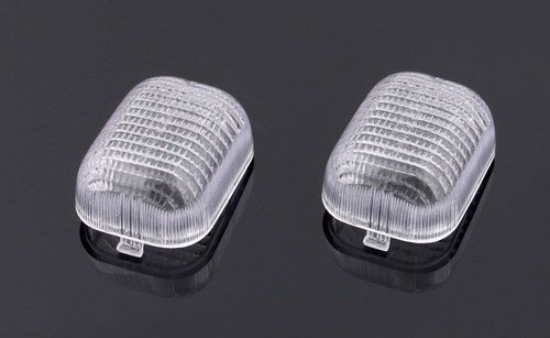 Front Indicators Turn Signals Lens for Buell M2 (1997-2001), Clear