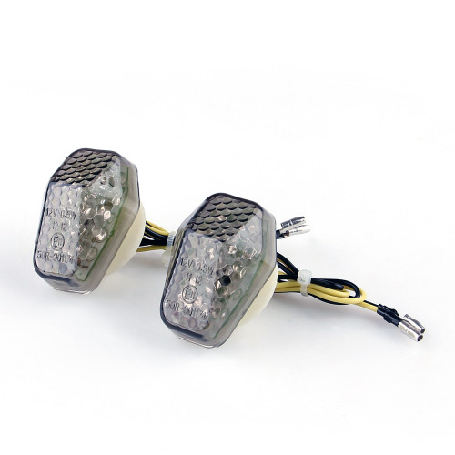 LED Turn Signals Suzuki GSXR600 2001-2013 GSXR750 2000-2013 GSXR1000 2001-2013 Smoke