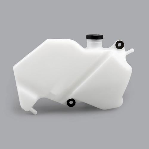 Radiator Coolant Overflow Tank Coolant Reserve Bottle Kawasaki Ninja ZX-6R (09-12), White