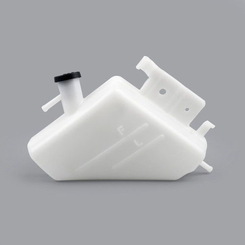 Radiator Coolant Overflow Tank Coolant Reserve Bottle Suzuki GSXR1000 (09-15) GSXR600 (06-10), White