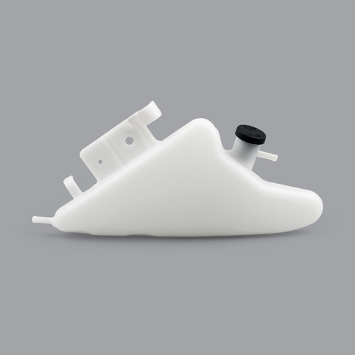Radiator Coolant Overflow Tank Coolant Reserve Bottle Suzuki GSXR1000 (11-15), White