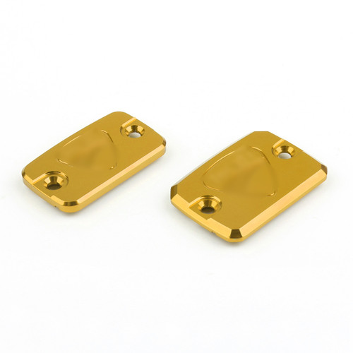 Clutch Brake Cylinder Reservoir Caps Ducati Monster 695 696 796, Gold