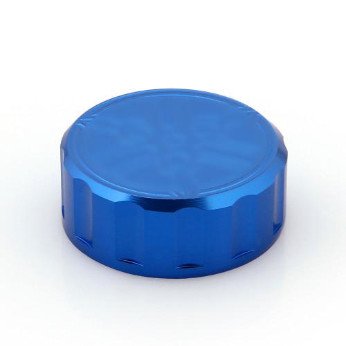 CNC Brake Fluid Reservoir Cap Yamaha YZF R1 R6 (All Year) Blue