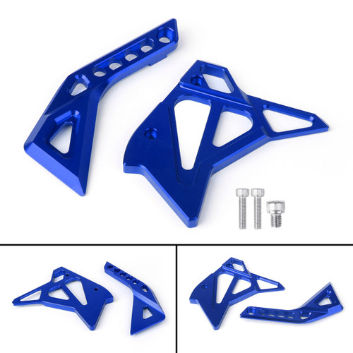 CNC Fuel Injection Injector Cover Guard Fairing For Kawasaki Z1000 (12-17) Blue