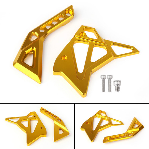 CNC Fuel Injection Injector Cover Guard Fairing For Kawasaki Z1000 (12-17) Gold