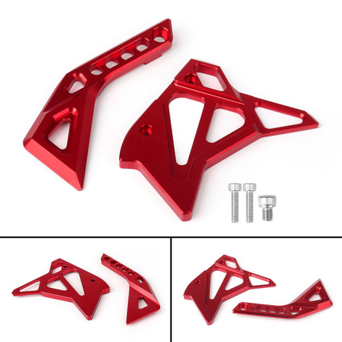 CNC Fuel Injection Injector Cover Guard Fairing For Kawasaki Z1000 (12-17) Red