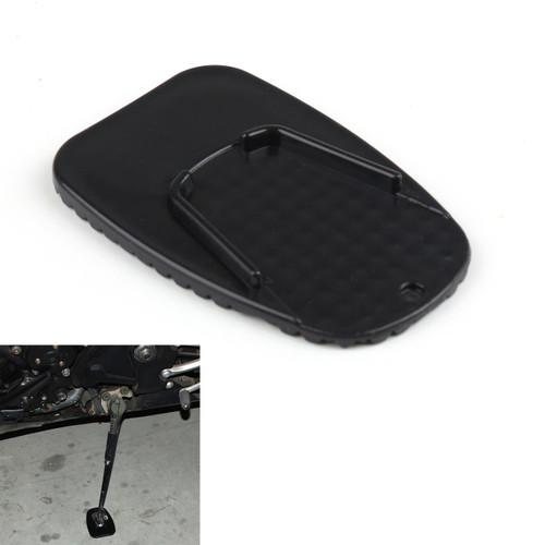 Motorbike Black Universal Plastic Kickstand Side Stand Plate Pad Base Hot Sale