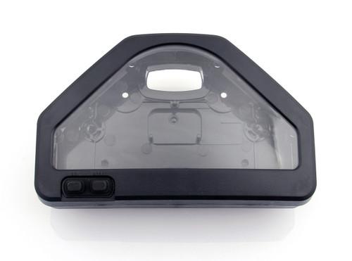 Speedometer Tachometer Instrument Gauge Case Cover (European Version) For HONDA CBR 1000 RR 04 - 2007 Black