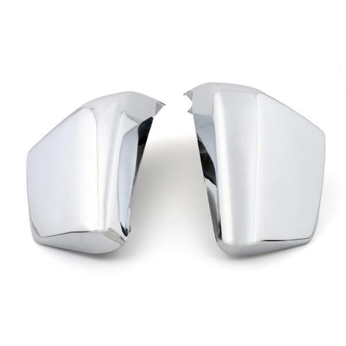 Battery Side Fairing Covers For Honda 750 VT750C Shadow AERO (04-13) 750 VT750C2 Shadow Spirit (07-13) Chrome