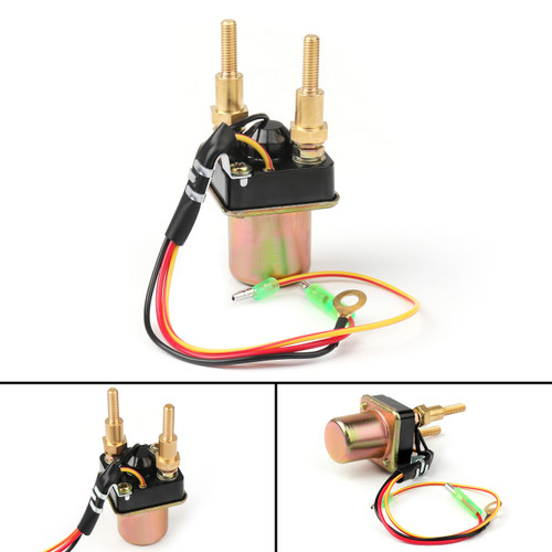 Starter Solenoid Relay For Kawasaki 550 (92-95) SXI PRO 750 (98-02) SX-R 800 (03-09) STS 900 (01-02) STX 1100 (99) JS 550 (92-95)