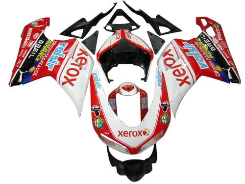 Fairings Ducati 1098 1198 848 Red Xerox Racing (2007-2011)