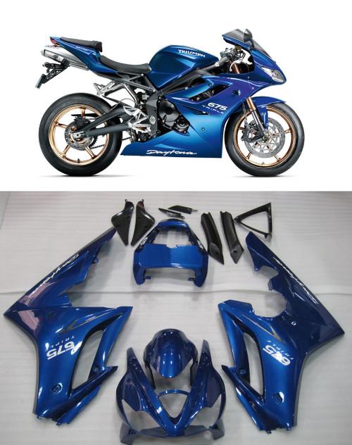 Fairings Triumph Daytona 675 Blue Daytona Racing (2006-2008)