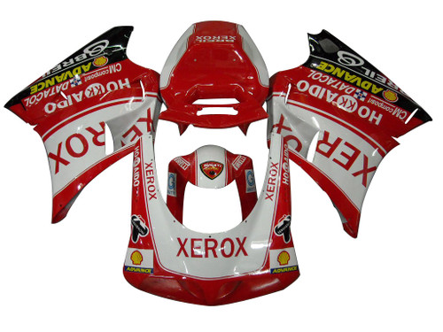Fairings Ducati 996 Red White Xerox Racing (1994-2002)
