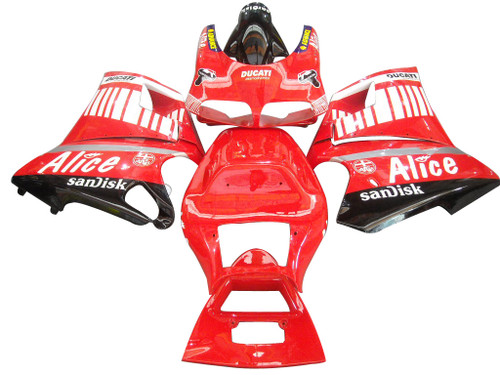 Fairings Ducati 996 Red Alice Racing (1994-2002)
