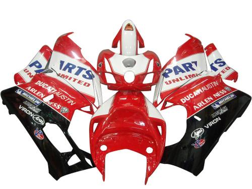 Fairings Ducati 999 Red & Black Ducati Austin Racing (2003-2004)