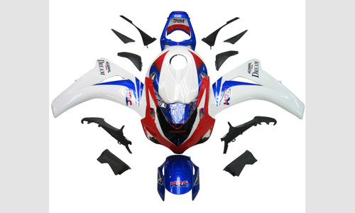 Fairings Honda CBR 1000 RR Red Whit Blue HRC Racing (2008-2011)