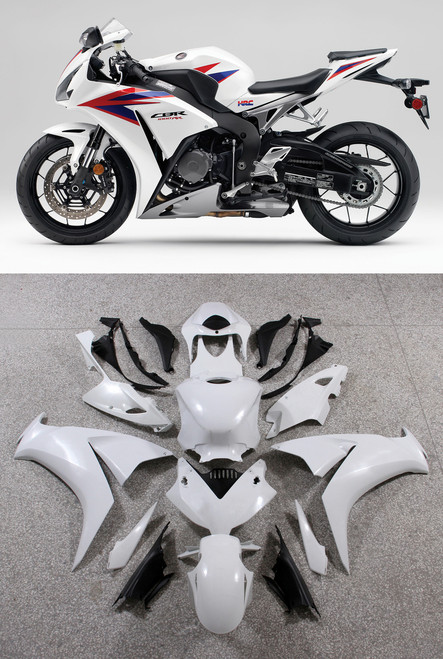 Fairings Honda CBR1000RR HRC White CBR Racing (2012-2013-2014-2015-2016)