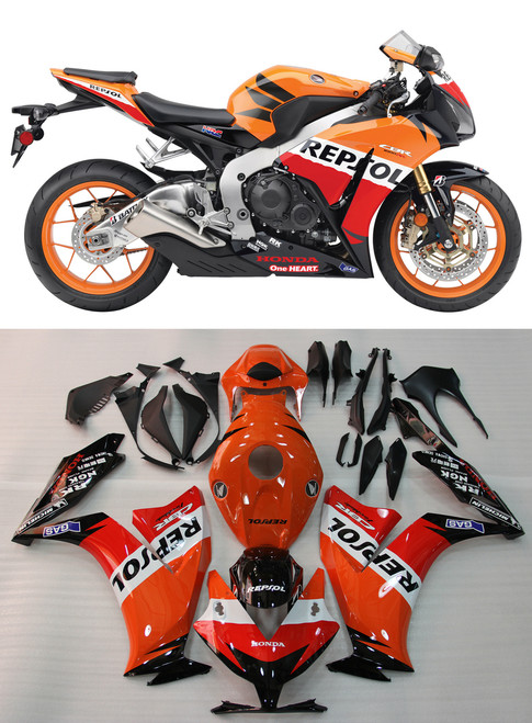 Fairings Honda CBR1000RR Repsol Orange Racing (2012-2013-2014-2015-2016)