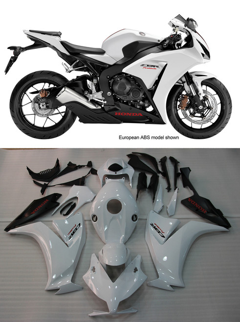 Fairings Honda CBR1000RR White CBR Racing (2012-2013-2014-2015-2016)