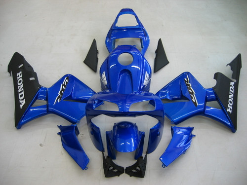 Fairings Honda CBR 600 RR Blue & Black CBR Racing (2003-2004)