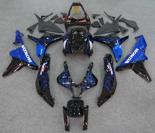 Fairings Honda CBR 600 RR Black & Blue Flame Racing (2007-2008)