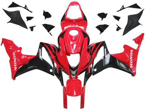 Fairings Honda CBR 600 RR Red & Black CBR Racing (2007-2008)