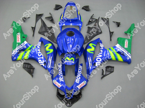 Fairings Honda CBR 600 RR Blue & Green Movistar Racing (2007-2008)