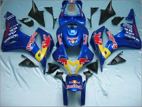 Fairings Honda CBR 600 RR Blue Red Bull Racing (2007-2008)