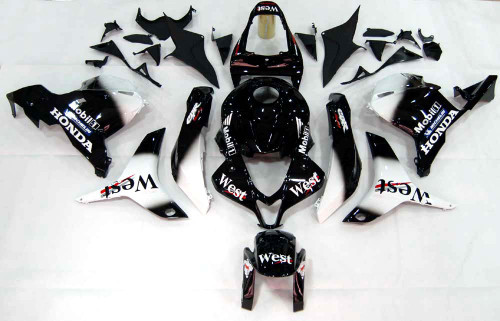 Fairings Honda CBR 600 RR Black West CBR Racing (2009-2012)
