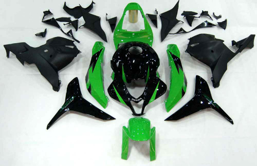Fairings Honda CBR 600 RR Green & Black CBR Racing (2009-2012)