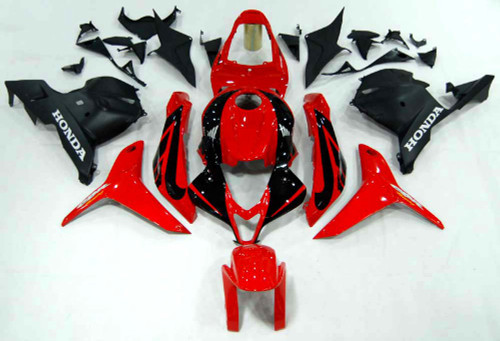 Fairings Honda CBR 600 RR Red & Black CBR Racing (2009-2012)