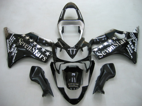 Fairings Honda CBR 600 F4i Black SevenStars Racing (2001-2003)