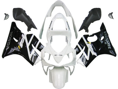 Fairings Honda CBR 600 F4i Black & White F4i Racing (2001-2003)