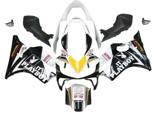 Fairings Honda CBR 600 F4i Black Playboy Racing (2004-2007)
