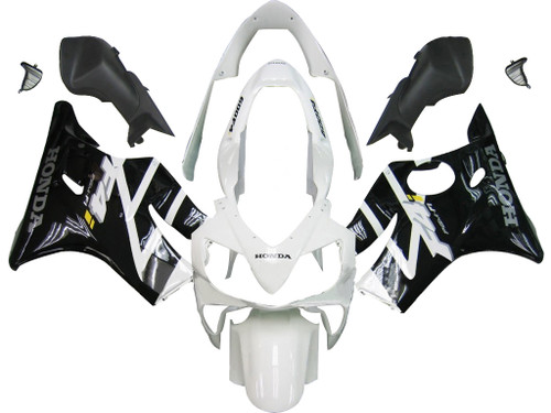 Fairings Honda CBR 600 F4i  White & Black F4i Racing (2004-2007)