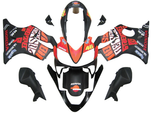 Fairings Honda CBR 600 F4i Black Valentino Rossi Racing (2004-2007)