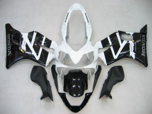 Fairings Honda CBR 600 F4i Black & White F4i Racing (2004-2007)
