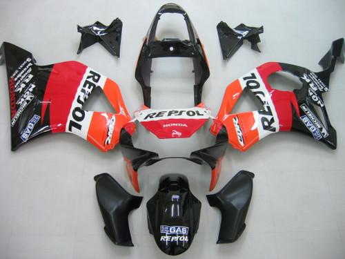 Fairings Honda CBR 954 RR Black Repsol Honda Racing (2002-2003)
