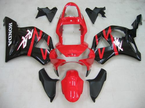 Fairings Honda CBR 954 RR Red and Black RR Racing (2002-2003)