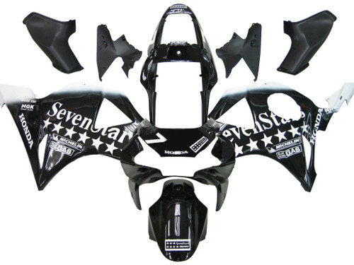 Fairings Honda CBR 954 RR Black SevenStars Racing (2002-2003)