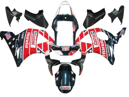Fairings Honda CBR 954 RR Multi-Color Castrol Honda Racing (2002-2003)