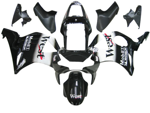 Fairings Honda CBR 954 RR Black West Racing (2002-2003)