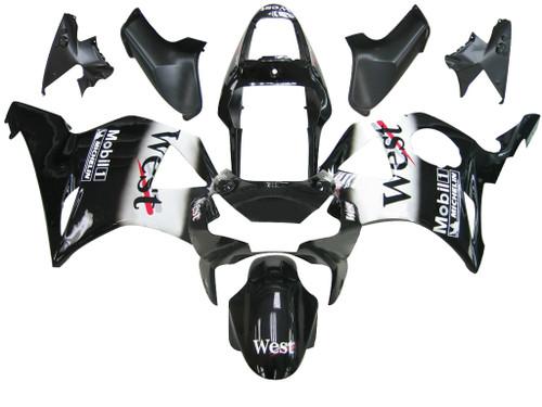 Fairings Honda CBR 954 RR Black West Racing (2002-2003)