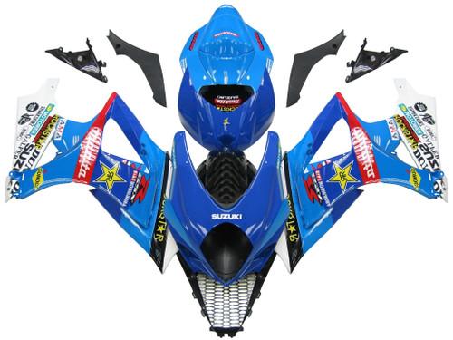 Fairings Suzuki GSXR 1000 Blue Rockstar  Racing  (2007-2008)
