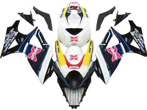 Fairings Suzuki GSXR 1000 Multi-Color Brux  Racing  (2007-2008)