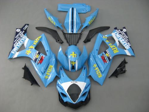 Fairings Suzuki GSXR 1000 Blue Rizla  Racing  (2007-2008)