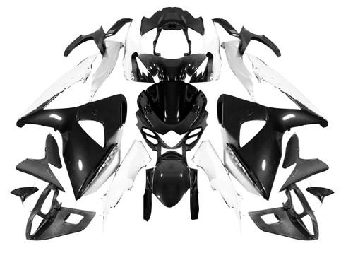 Fairings Suzuki GSXR 1000 Black & White GSXR Racing  (2009-2012)